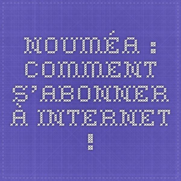 Nouméa : comment s'abonner à internet ! Découvrez le fournisseur d'accès internet #nautile sur #noumea ( #nouvellecaledonie ). Toutes les infos sur https://www.nautile.nc/fournisseur-internet-province-sud/abonnement-forfait-noumea
