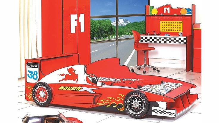 Autobett in Rennwagen-Design / Racing car bed