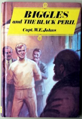 Biggles and the Black Peril Capt W E Johns FREE AUS POST very good used cond HB in Books, Magazines, Children's Books | eBay