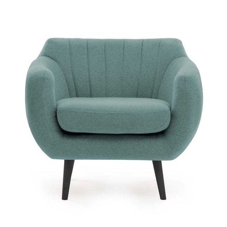 Kennet Armchair, Aqua Sky