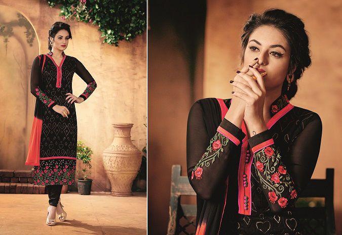 Party Anarkali Ethnic Designer Exclusive Indian Bollywood Pakistani Salwar Suit…