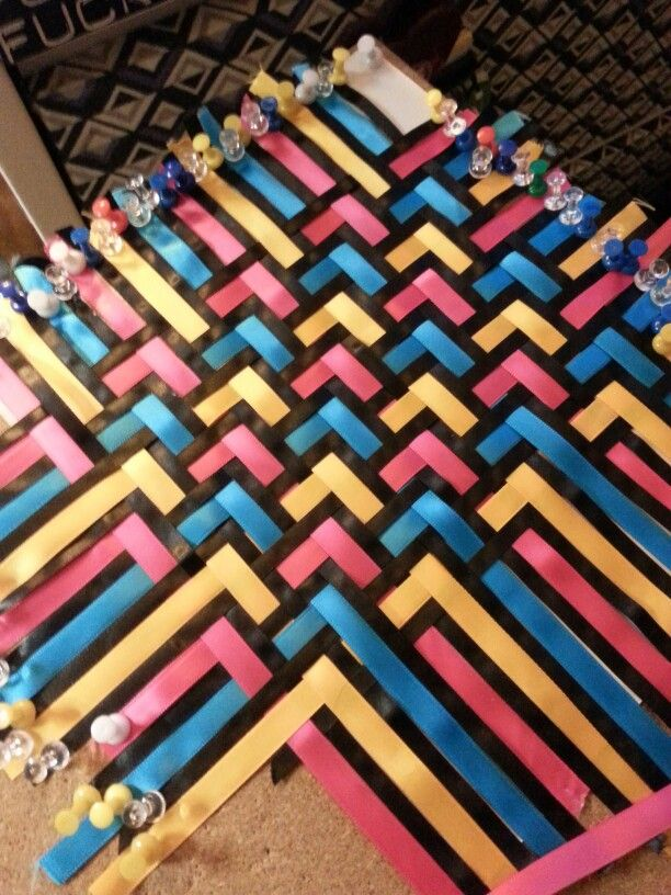 Diy Ribbon Book Cover : Best images about basket weaving on pinterest linen