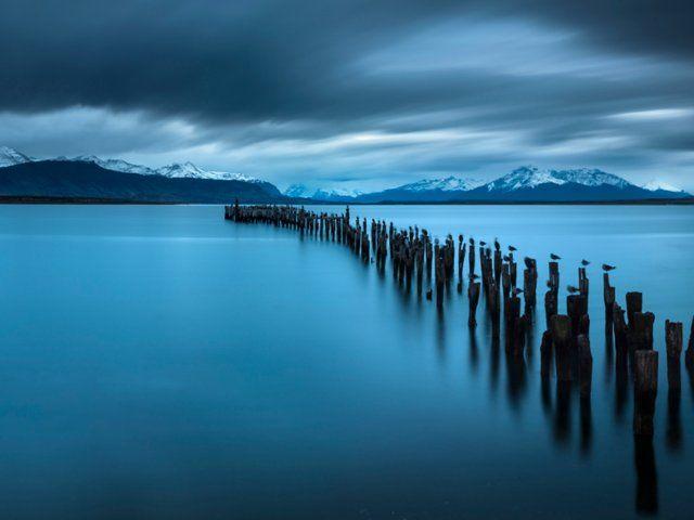 Last Hope Sound, Puerto Natales, Patagonia, Chile