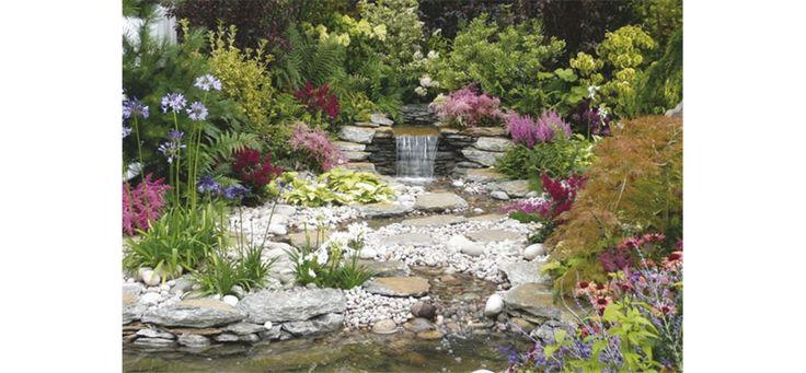 scottish pebbles in gardens