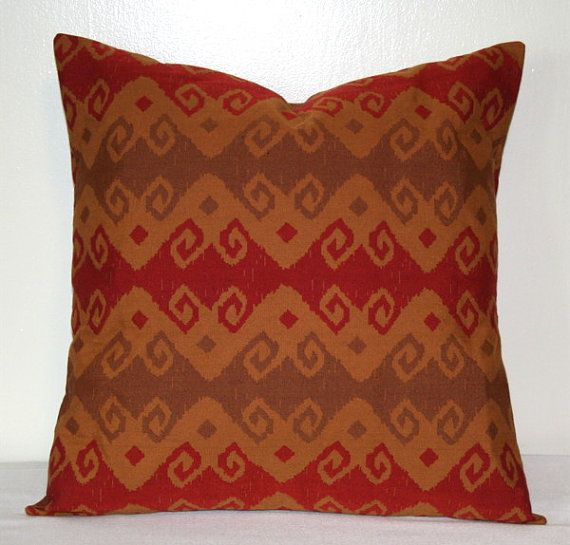 Red Tan And Brown Throw Pillows : 17 Best images about Brown Beige and Gold on Pinterest Giclee print, Chocolate brown and ...