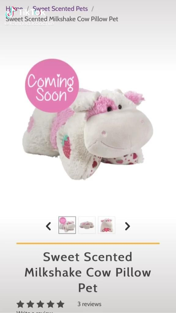 I Want Strawberry Cow Video In 2020 Animal Pillows Funny Gif Cow Craft