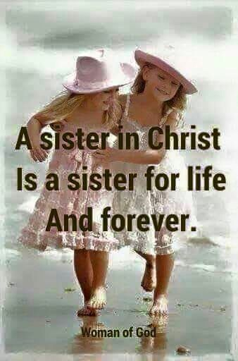I love you my sisters in Christ. Especially the very precious ones God has sent to impact my life. <3 Have a Glorious Day <3
