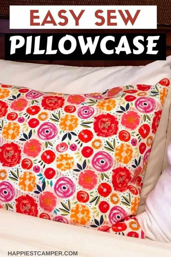 How To Sew A Pillowcase In 2020 Pillow Cases Tutorials Sewing