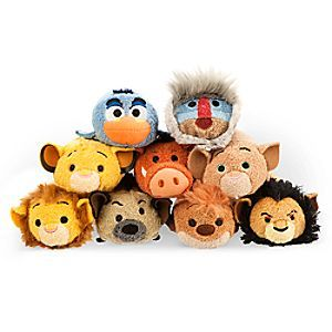The Lion King tsum collection.