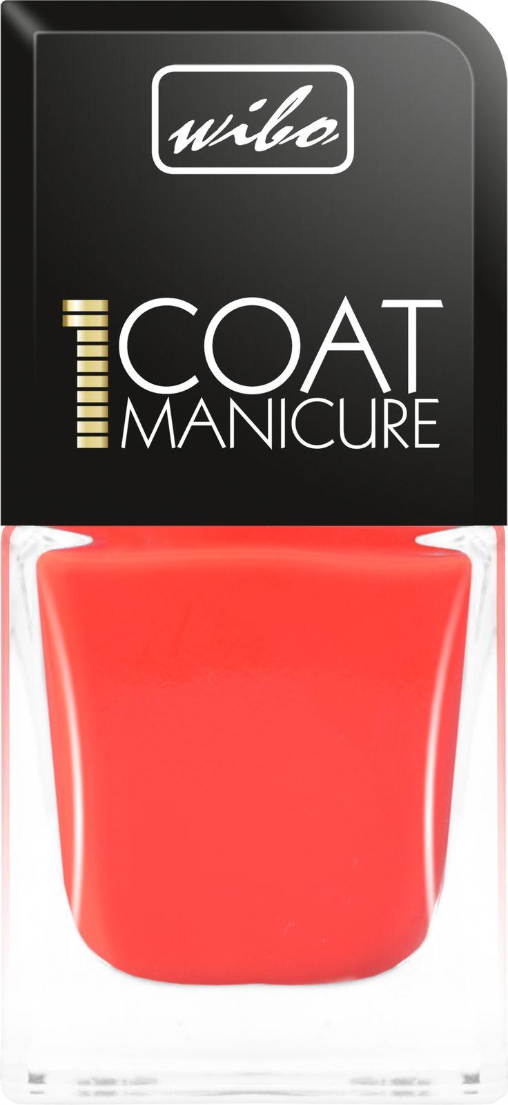 lakier do paznokci 1Coat Manicure  #wibo #wibopl #wibokosmetyki #manicure #1CoatManicure