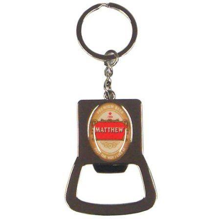 Personalised Bottle Opener Keyring Robert: Amazon.co.uk: Kitchen & Home