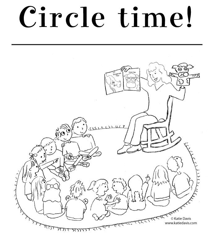 from kindergarten rocks by katie davis - Circle Coloring Pages Toddlers