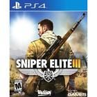 Sniper Elite III 3 USED SEALED (Sony PlayStation 4 2014) PS PS4