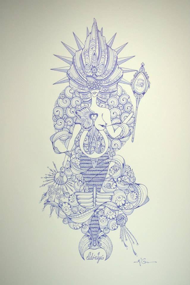 """O artista participa da coletiva """"Iemanjá"""" na Fibra Galeria, em São Paulo. Na exposição, 15 artistas reinterpretam o mito da Rainha do Mar, sob curadoria de Jairo Bulis Goldenberg e Maíra Maciel. Do convite para participar de """"Iemanjá"""" até o remate, foram cerca de seis semanas de trabalho diário. Um recorde se consideradas a riqueza [...]"""