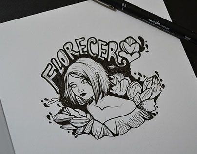 """Check out new work on my @Behance portfolio: """"Florecer"""" http://be.net/gallery/46300871/Florecer"""