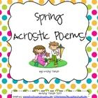 Do you need a fun and engaging way to teach acrostic poems to your students?  If so, then this is the activity for you and your students! This 7 pa...