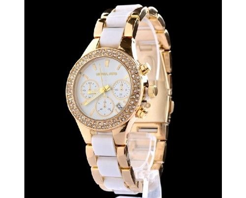 New Arrival Fashionable MICHAEL KORS Crystal Watch - USD $27.95 : EverMarker.com