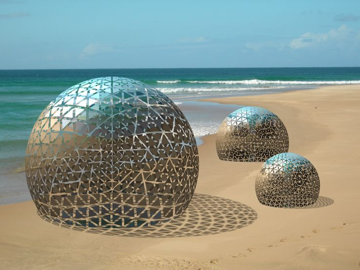 3 Unidentified Flying Objects washed ashore on a beach in New Zealand.