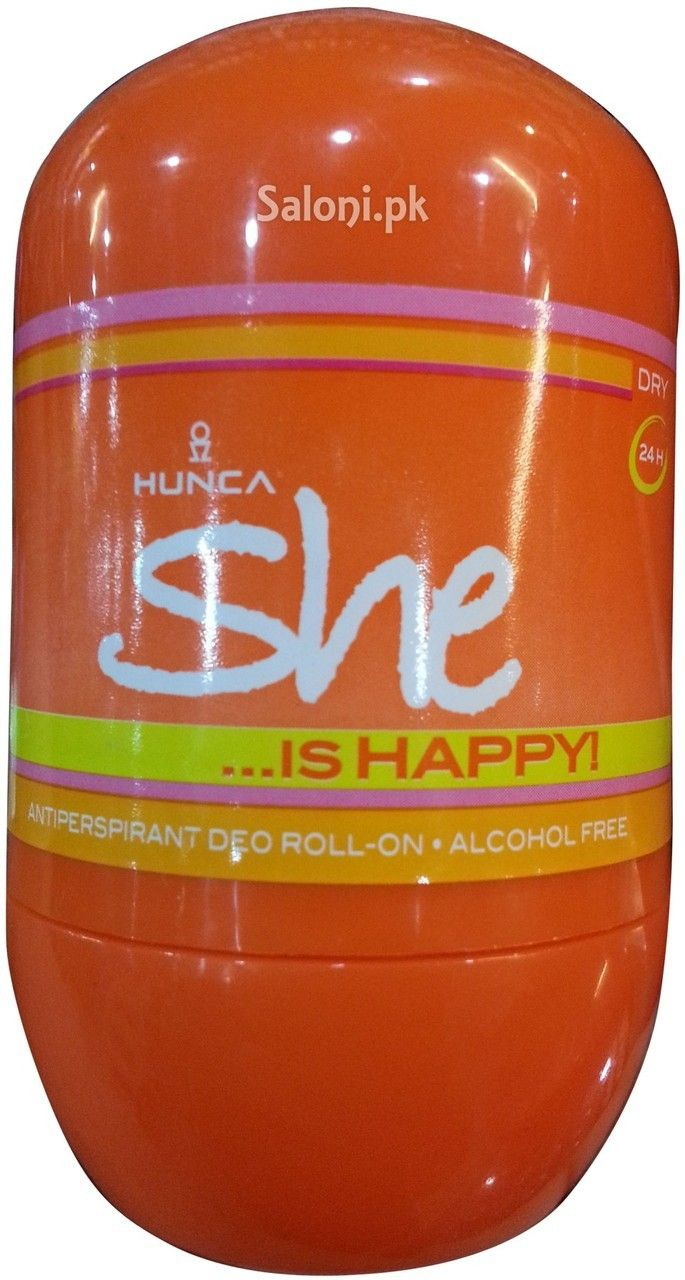 HUNCA SHE IS HAPPY ROLL-ON DEODORANT 40 ML Saloni™ Health