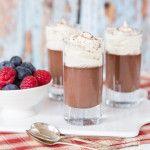 Three Ingredient Horlicks (Malted Milk Powder) Chocolate Pots