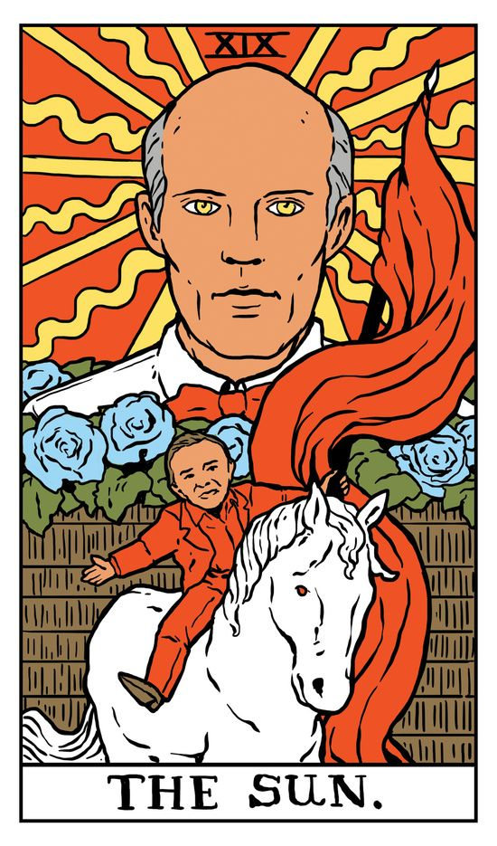 Twin Peaks Tarot Cards For The Magician Who Longs To See Through The Darkness Of Future Past