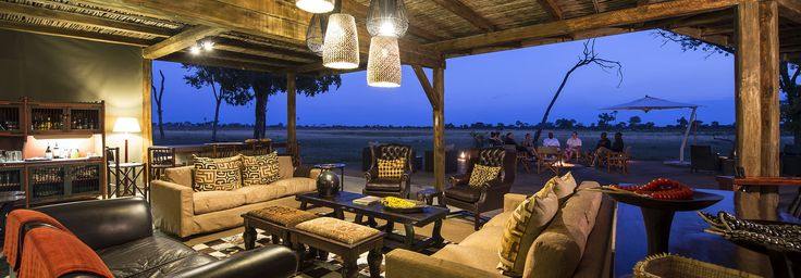 Main area at Davison's Camp, Hwange National Park, Zimbabwe | Wilderness Safaris