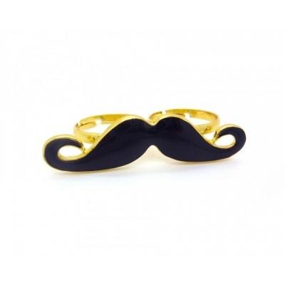 $5.5 Bague Moustache deux doigts #ring #bague #moustache #andalousie