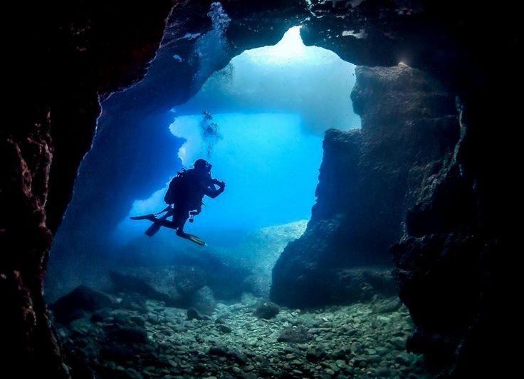Blue hole gozo motherland pinterest malta diving for Gozo dive centres