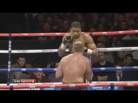 Anthony Joshua Vs Dorian Darch FULL FIGHT