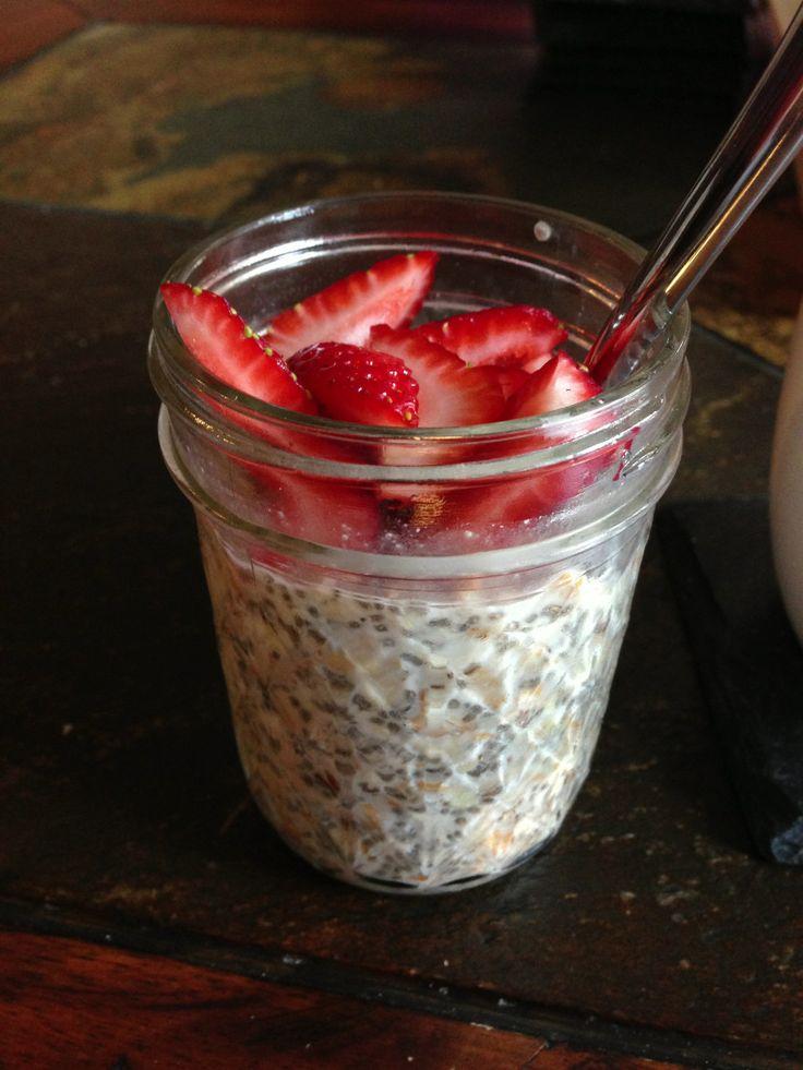chia overnight oats