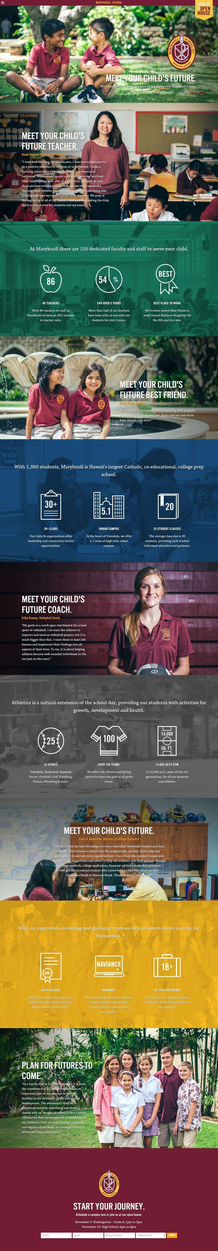 Meet Your Child's Future http://flattrendz.com/flat-design-gallery/meet-childs-future/
