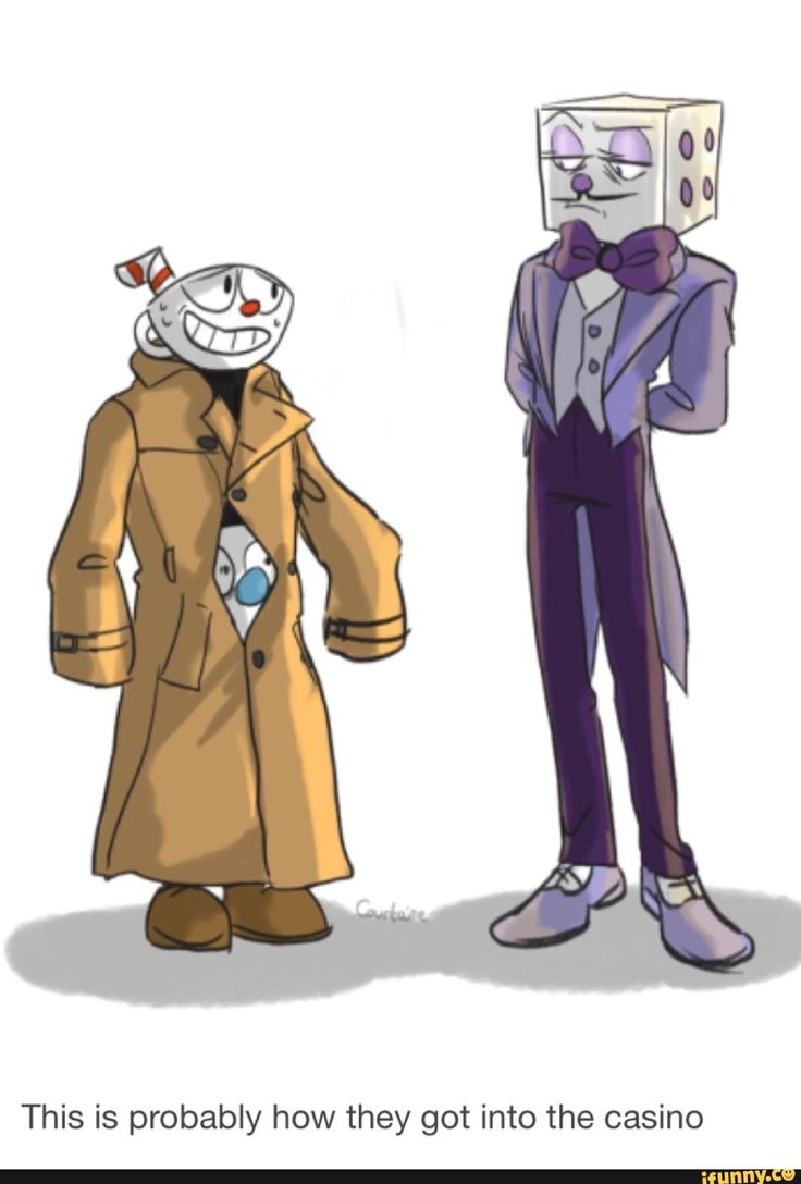 """""""hello yes take me to casino- don't fuck this up mugman."""""""