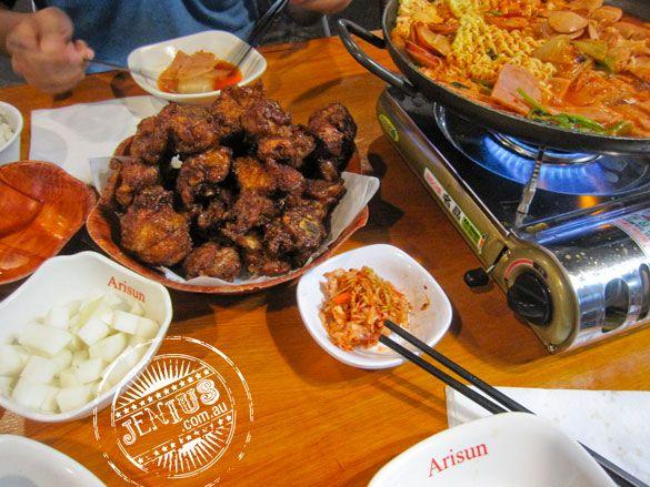 Arisun - Dixon St Haymarket. Korean Fried Chicken