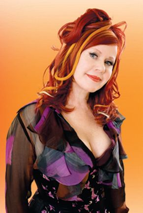 Kate Pierson of the B-52's.   She worked at  #The Print Shop for a short period of time.
