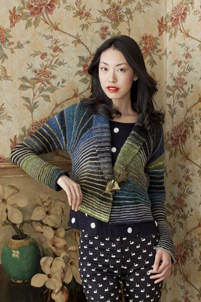 Noro Sweater from the new Noro magazine.  http://knittingfever.com/blog/?p=1035