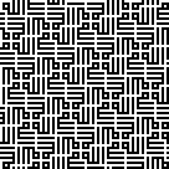 Wall pattern from the Tughluq Temür Mausoleum