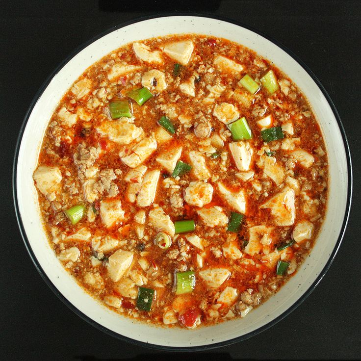 Mapo tofu is arguably the most famous recipe from Sichuan province ...