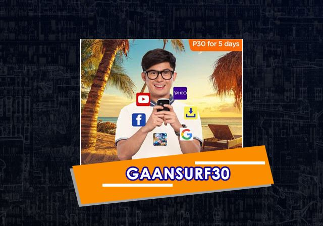 5 days internet in your smart mobile phone, GAANSURF30 Promo is an internet promo which is operated which data limit. #http://talkntextcallandtextpromos.blogspot.com/2017/05/tnt-gaansurf30-promo-2017-5-days-mobile.html