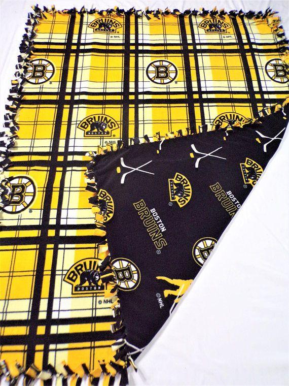 Boston Blanket – Boston Bruins Blanket – Boston Sports – Boston Hockey – Bruins Hockey – Gift for Him – Gift for Boyfriend – Bruins Fan Gift