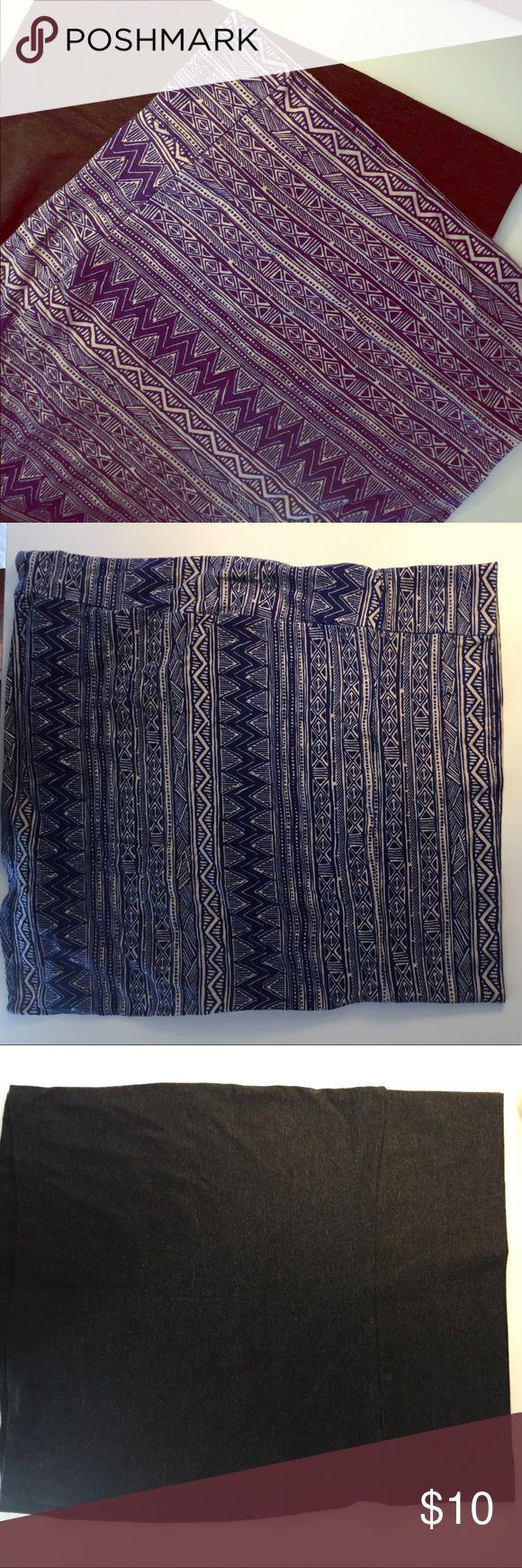 Cotton Skirts Bundle Charlotte Rousse cotton pencil skirts Charlotte Russe Skirts Pencil