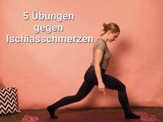 Ischiasschmerzen: 5 Übungen, die sofort helfen – Gina Laube