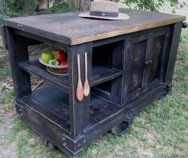 1000 id es sur le th me homemade kitchen island sur for Recuperation de vieux meubles