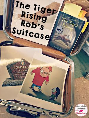 Lucy Calkins Grade 4 Fiction - The Tiger Rising understanding Rob's Suitcase