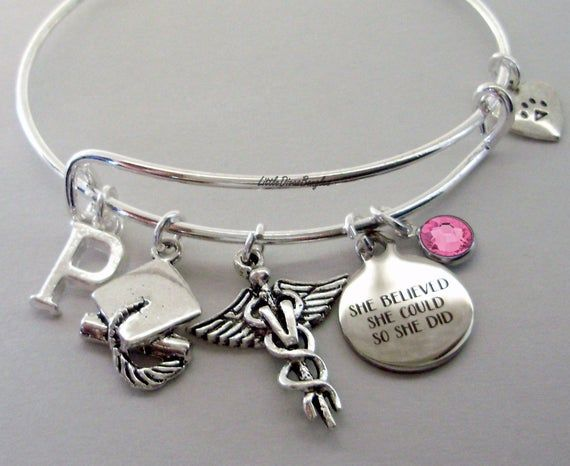 Memorial is Or Hers Gift   K1 A Piece Of My Heart Silver Charm KEY RING W Birthstone  INITIAL  Wing  Personalize   Mom Dad Aunt Child