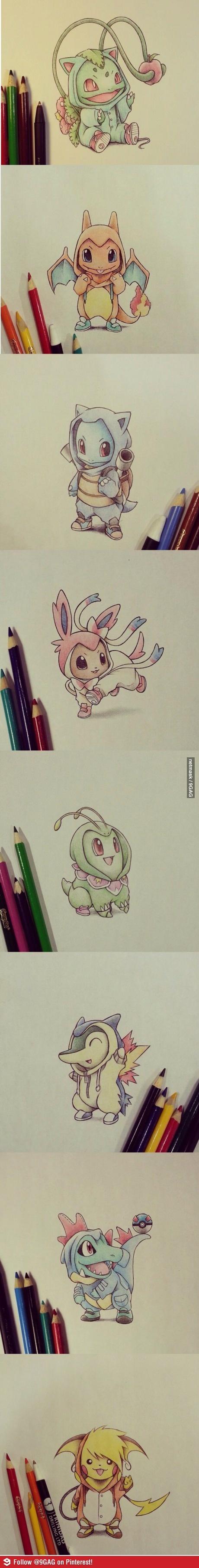 Pokemon in there Evos hoodie | Pokemon | Pokemon funny ...
