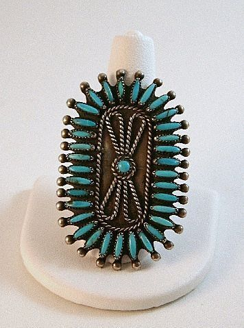 Ring Victor Moses Begay Navajo Sterling by CharmedCollectibles, $400.00