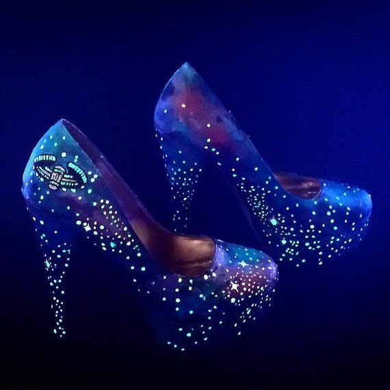 Hey, I found this really awesome Etsy listing at https://www.etsy.com/listing/216431532/painted-glowing-galaxy-shoes
