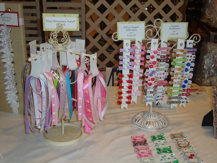 How To Display Barrettes At A Craft Show
