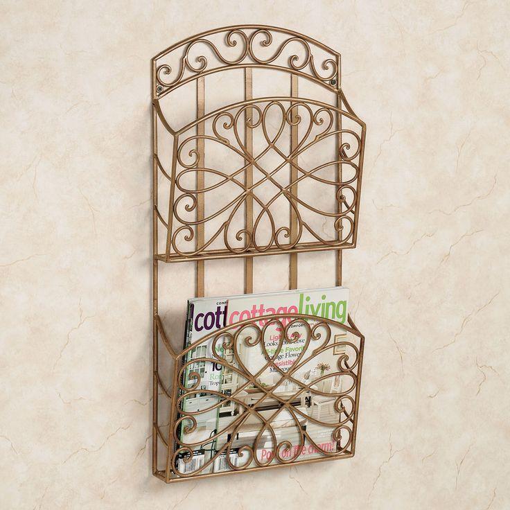aida double wall magazine rack