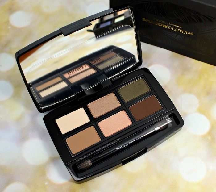 butter LONDON Natural Charm Shadow Clutch Palette